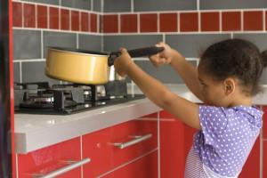 accidents domestiques chez l'enfant